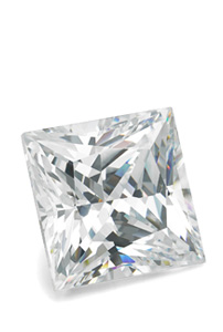 Princess-cut, Lab-Created Diamond