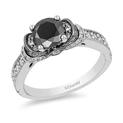 enchanted-disney-villains-evil-queen-112-ct-tw-enhanced-black-diamond-engagement-ring-in-14k-white-gold