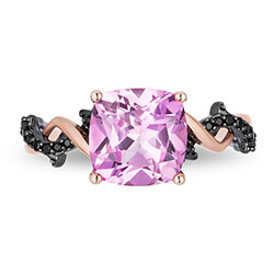 enchanted-disney-villains-maleficent-pink-topaz-110-ct-tw-enhanced-black-diamond-thorn-ring-10k-rose-gold
