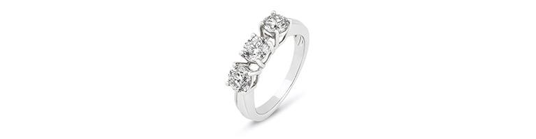 Three Stone Ring Meaning Zales Zales