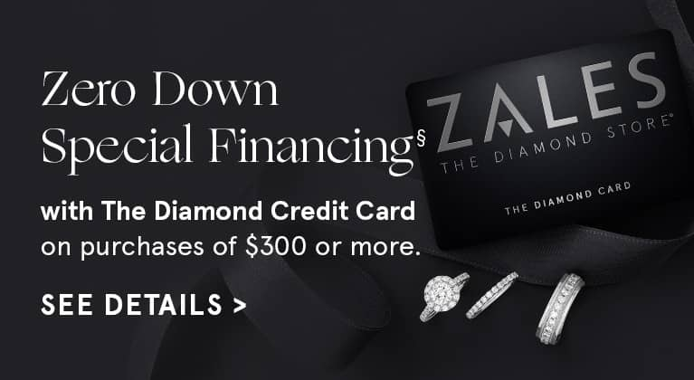 Special Financing with the Zales Diamond Card