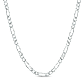 Men's 3.0mm Figaro Chain Necklace