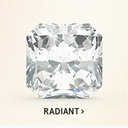 Image of a radiant diamond cut on a white background.