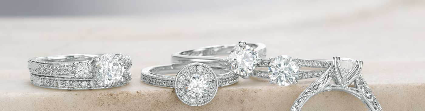 create your own it has never been easier to create the ring of her dreams - Zales Wedding Rings For Her