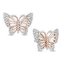 Flutter By,Butterflies earrings