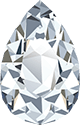 A pear shaped diamond