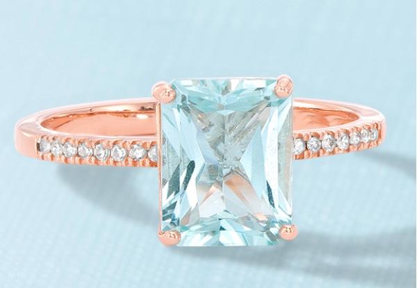 Aqumarine gemstone