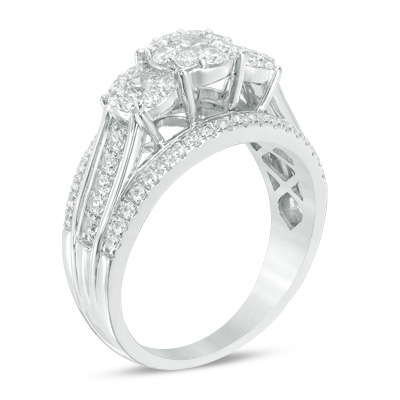 A Cathedral Setting Adds Height To Ring And Makes The Center Stone Appear Larger This Type Of Does Have Drawbacks Though As Wearer Risks