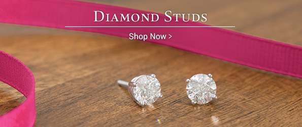 Shop Diamond Studs >