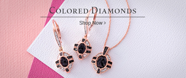 Shop Colored Diamonds >
