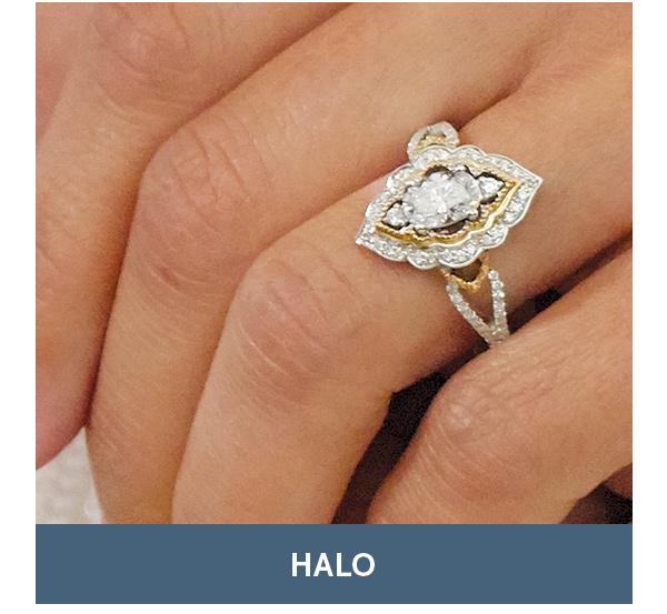 c7478c54f Style Stories Bridal Edition | Shop Halo Rings >