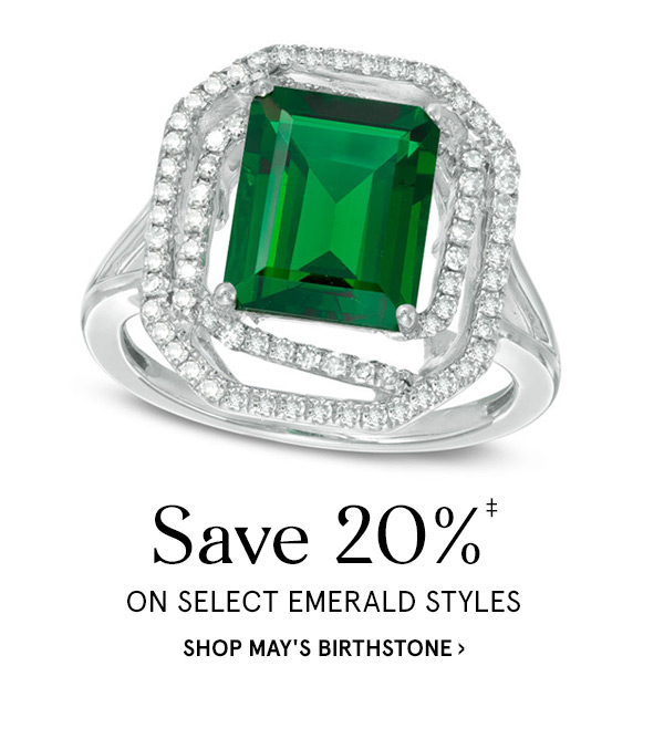0d857e1a29 Save 20%‡ On Select Emerald Styles
