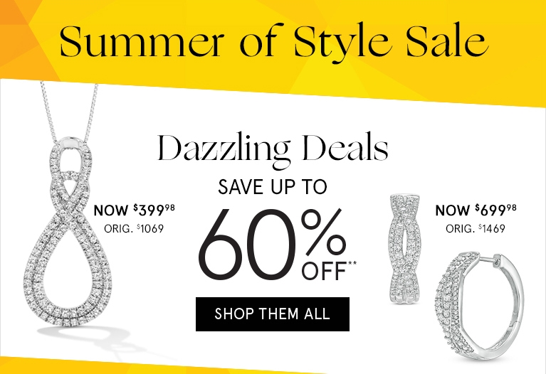 Zales: Dazzling deals Save Up to 60% off