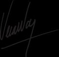 Vera Wang Signature.