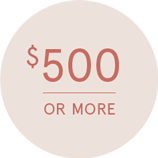 Shop Gifts $500 and Up >