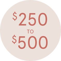 Shop Gifts $250-$500 >