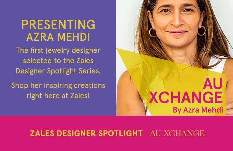 Enlighted by the empowered and bold message of her daughter's thankfulness for jewelry this ignited her passion to create AU Xchange Fine Gold Jewelry >