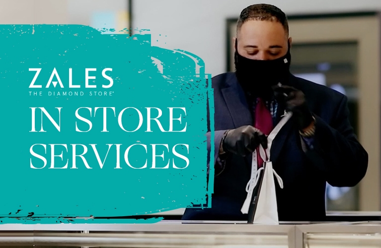Zales in store service